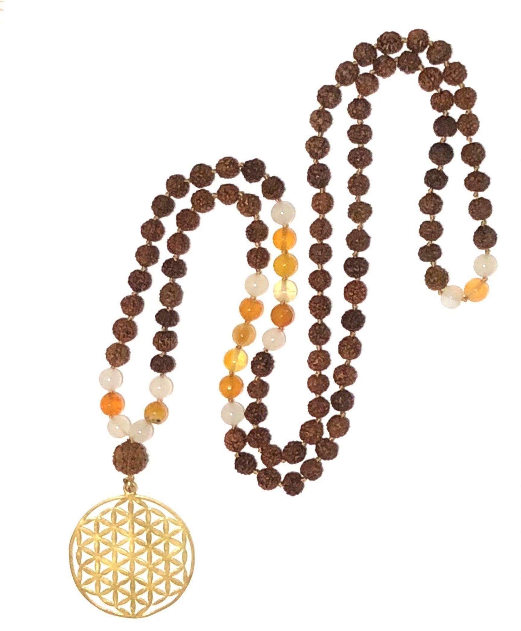 Protection Gold Beach Pottery Jizo Bodhisattva Icon Golden Halo Healing Shard Flower Meditation Robe Lotus Compassion